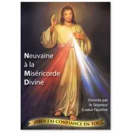 Neuvaine à la miséricorde divine donnée par le Seigneur à soeur Faustine