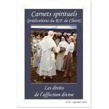 Les droits de l'affection divine - Carnets spirituels N°58