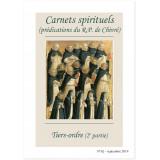 Tiers-Ordre 2ème partie - Carnets spirituels N°62