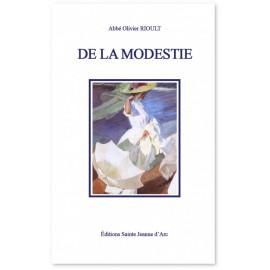 Abbé Olivier Rioult - De la modestie