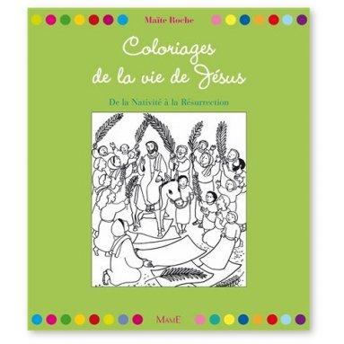 Coloriages de la vie de Jésus