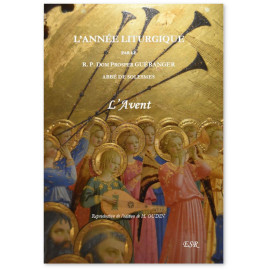 Dom Prosper Guéranger - L'année liturgique - L'Avent