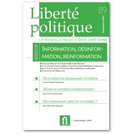 Liberté Politique - Liberté Politique N°89