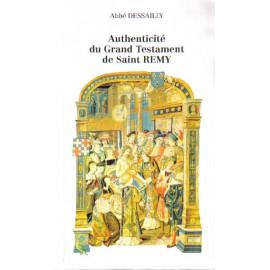 Authenticité du Grand Testament de saint Rémy