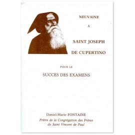 Père Daniel-Marie Fontaine - Neuvaine à saint Joseph de Cupertino pour le succès des examens