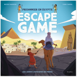 Nicole Masson - Escape Game - Prisonnier en Egypte
