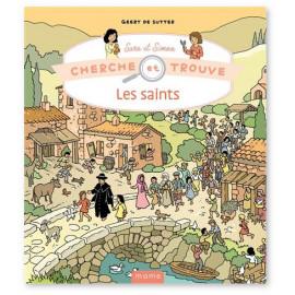 Geert de Sutter - Cherche et trouve Sara et Simon - Les Saints