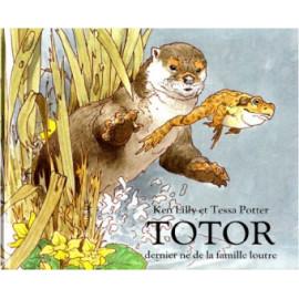Totor , dernier né de la famille loutre