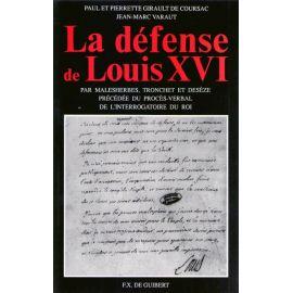 La défense de Louis XVI