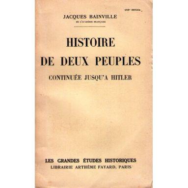 Histoire de deux peuples