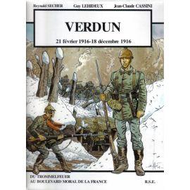 Verdun avec le casque allemand
