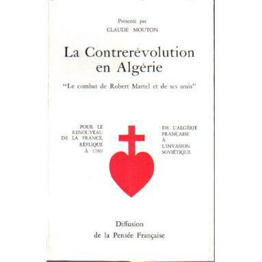 La Contrerévolution en Algérie