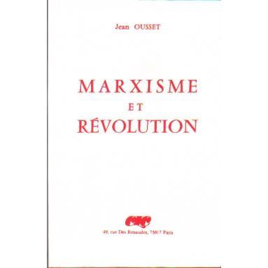 Marxisme et Révolution