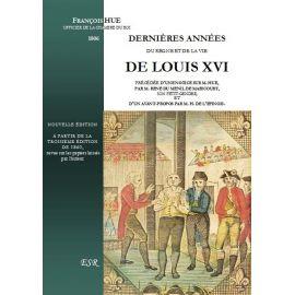 Dernières années du règne de Louis XVI