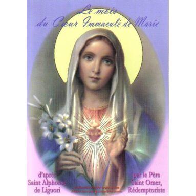 Le Mois du Cœur Immaculé de Marie