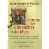 Sermons des Dimanches et des Fêtes - Tome II