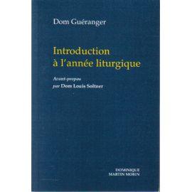 Introduction à l'Année Liturgique