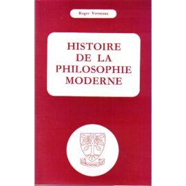 Histoire de la Philosophie Moderne