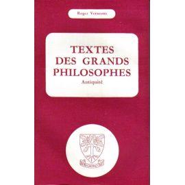 Textes des Grands Philosophes