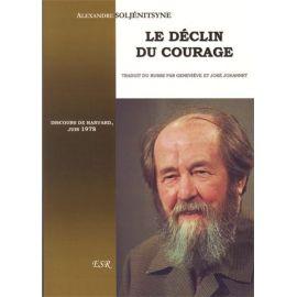 Le déclin du courage