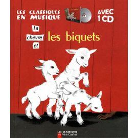 La Chèvre et les Biquets avec un CD