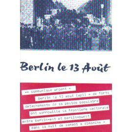 Berlin le 13 août
