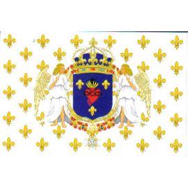 Les armes de France et le Sacré-Coeur