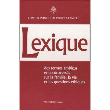 Lexique des termes ambigus et controversés