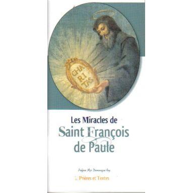 Les miracles de saint François de Paule