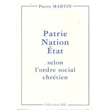 Patrie Nation Etat