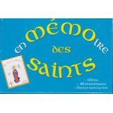 En mémoire des saints