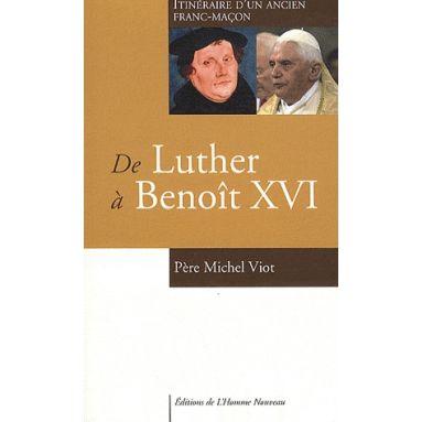 De Luther à Benoît XVI