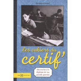 Les cahiers du certif'
