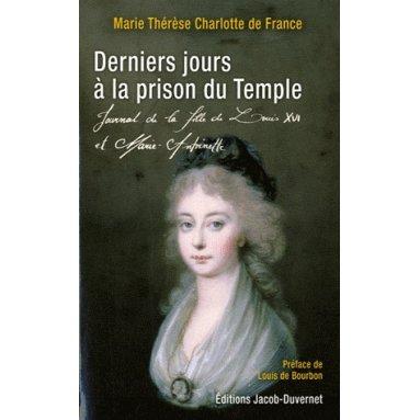 Derniers jours à la prison du Temple