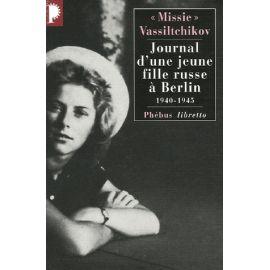 Journal d'une jeune fille russe à Berlin