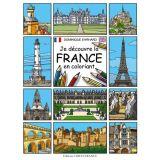 Je découvre la France en coloriant