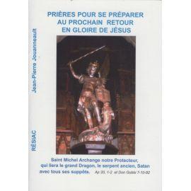 Prières pour se préparer au prochain retour en gloire de Jésus