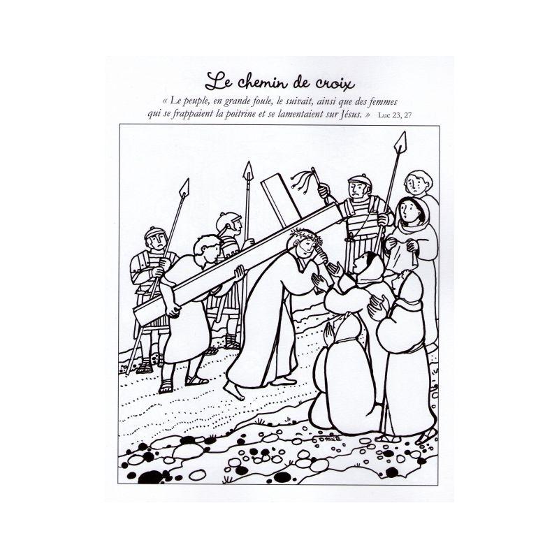 Coloriage Paques Famille.Maite Roche Coloriages De Paques Livres En Famille