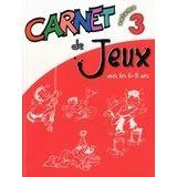 Carnet de jeux - Volume 3
