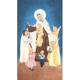 La Vierge et le scapulaire aux petits enfants - Image 27