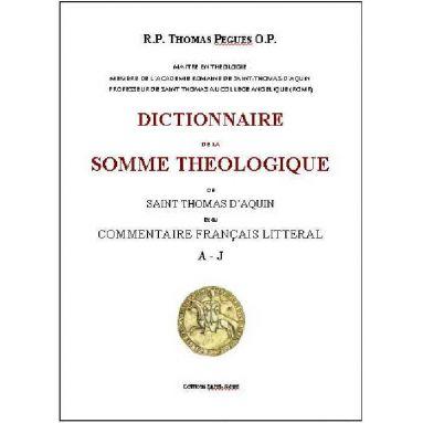 Dictionnaire de la Somme Théologique