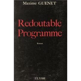 Redoutable Programme