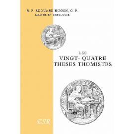 Les vingt quatre thèses thomistes