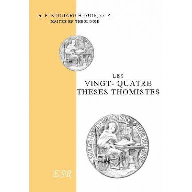 Les vingt-quatre thèses thomistes