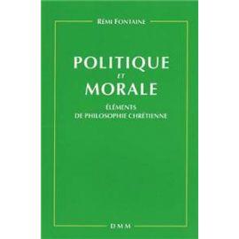 Politique et morale