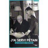J'ai servi Pétain
