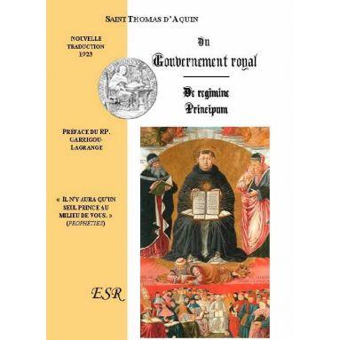 Du Gouvernement Royal