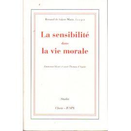 La sensibilité dans la vie morale