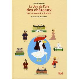 Le jeu de l'oie des châteaux qui racontent la France