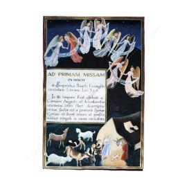 L'adoration des bergers - CV 1073